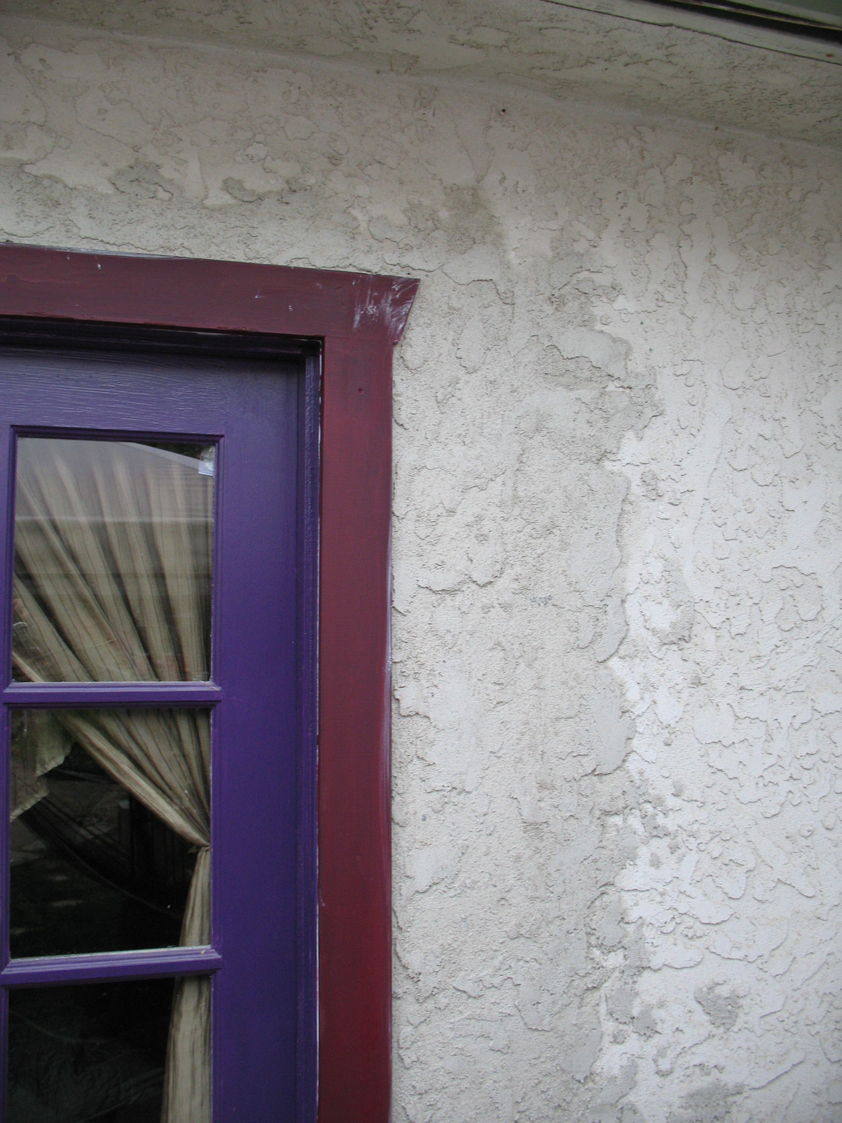 Patching Stucco Texture On Exter